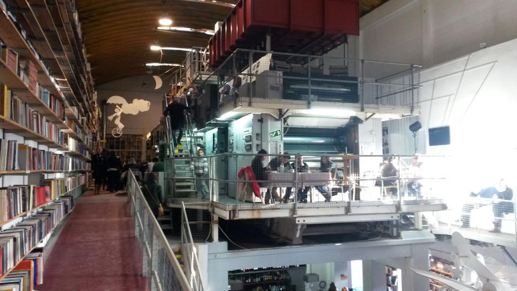 Buchhandlung in Lissabon