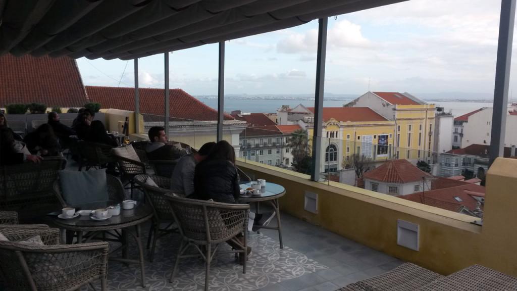 Blick auf den Tejo in Lissabon