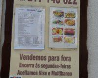 Typisch portugiesisches Essen